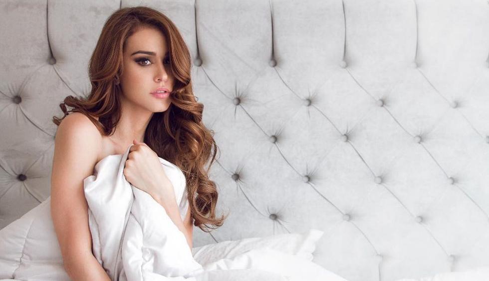 La 'Chica del clima', Yanet García, sabe perfectamente cómo enamorar aún más a sus seguidores. (Foto: Instagram)