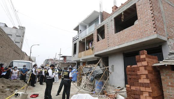 Víctima trabajaba desde hace años en el rubro de la construcción. | Foto: Violeta Ayasta