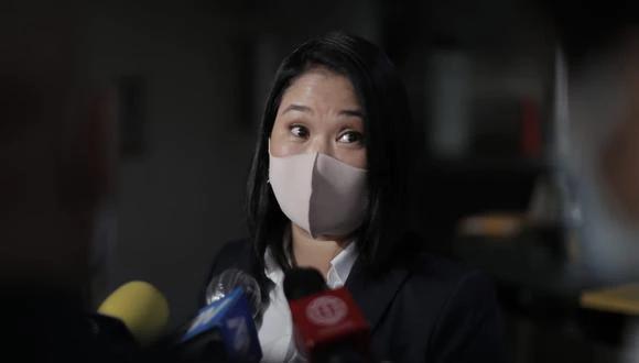 La resolución establece que Keiko ni incumple restricciones al reunirse con Miguel Torres y Lourdes Flores. (Foto: El Comercio)