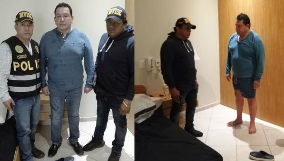Félix Moreno fue capturado por la Policía Nacional.