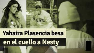 Yahaira Plasencia fue captada besando en el cuello a Nesty