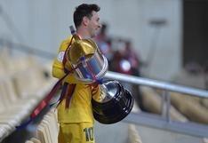 """Messi festeja nueva Copa del Rey con Barcelona: """"Estoy muy feliz por este grupo, merecía una alegría"""""""