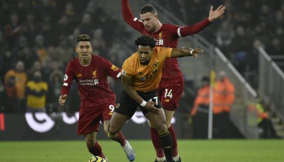 Liverpool vs. Wolverhampton: Partido por la Premier League