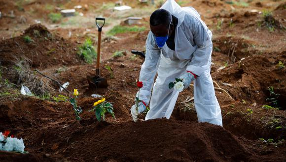 Brasil tiene una alta cifra de muertes por COVID-19, incluidos decesos de niños con cifras superiores a otros países, como Estados Unidos. (Foto: EFE)