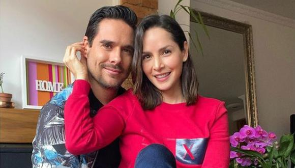 Los actores se casaron el 18 de octubre de 2019 y ahora afrontan un complicado momento por el COVID-19. (Foto: @cvillaloboss / Instagram)