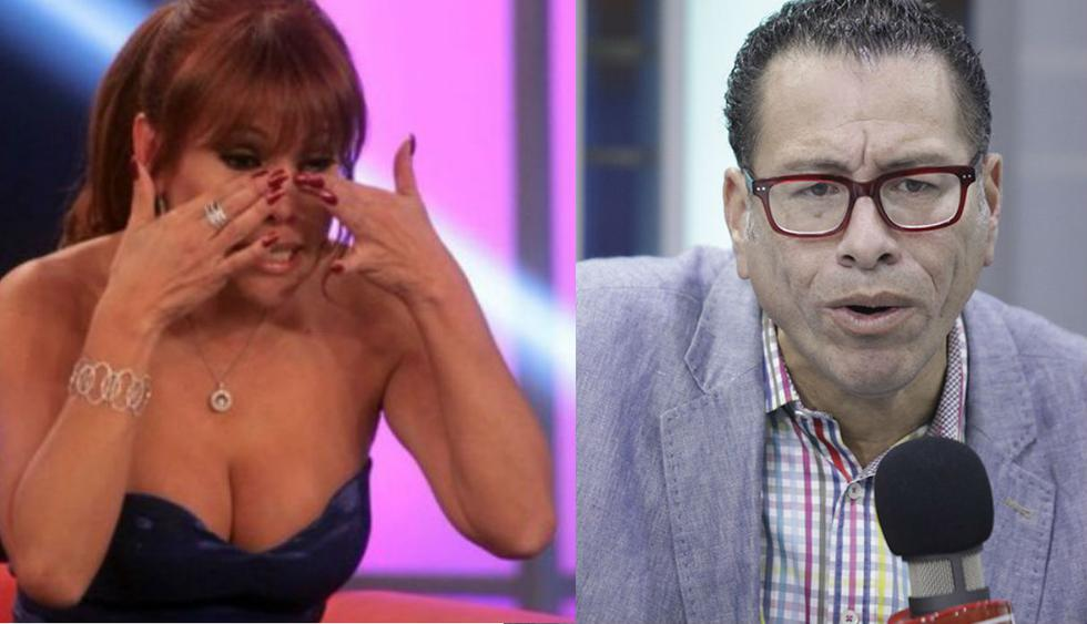 Phillips Butters muestra su apoyo a Magaly Medina