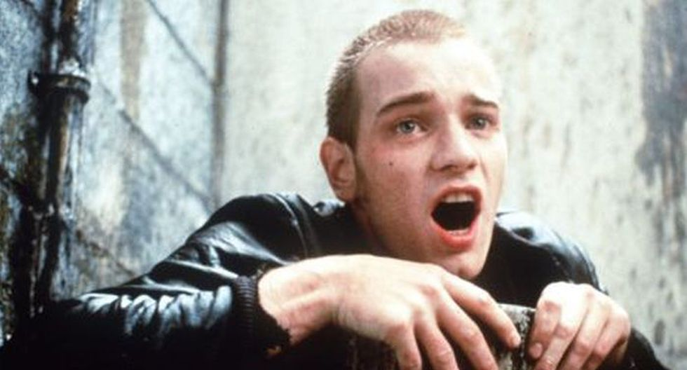 Ewan McGregor en Trainspotting