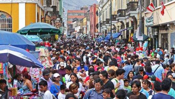 La MML ha puesto a disposición a partir de hoy el Plan de Seguridad Navidad 360° a fin de garantizar la seguridad y el desplazamiento de los que acudan a estos comercios. (Foto: Andina / Oscar Farje)
