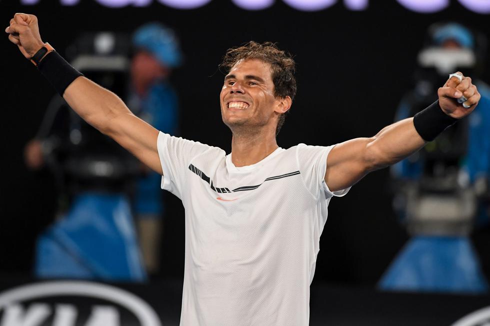Rafael Nadal y Grigor Dimitrov nos regalaron un vibrante encuentro de casi cinco horas. (Agencias)