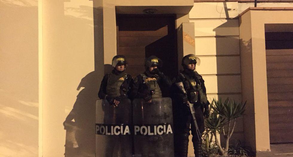Walter Ríos, ex presidente de la Corte Superior de Justicia del Callao, era quien encabezaba esta organización. (IDL-Reporteros)
