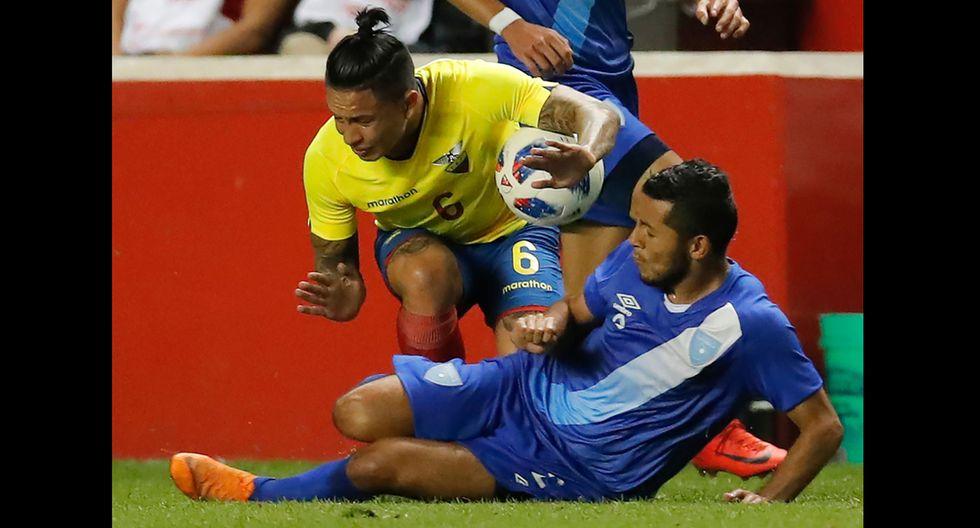Ecuador vs. Guatemala se enfrentaron en partido amistoso. El Tri ganó 2-0. (Fotos: Agencias)
