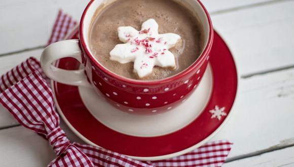 El chocolate caliente se puede disfrutar con panetón, galletas de jengibre o roscón de Reyes. (Foto: Terri Cnudde / Pixabay)