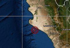 IGP: temblor de 4,0 se reportó en Lambayeque esta madrugada