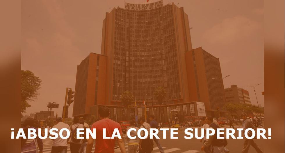 Corte Superior de Justicia de Lima emitió un comunicado donde le expresan su apoyo a la víctima de violación.