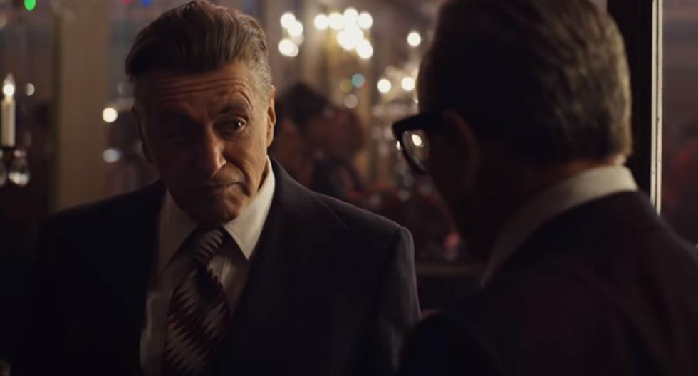 """Netflix lanzó el tráiler final de """"The Irishman"""", la cinta que protagonizan Robert De Niro y Al Pacino. (Foto: Netflix)"""