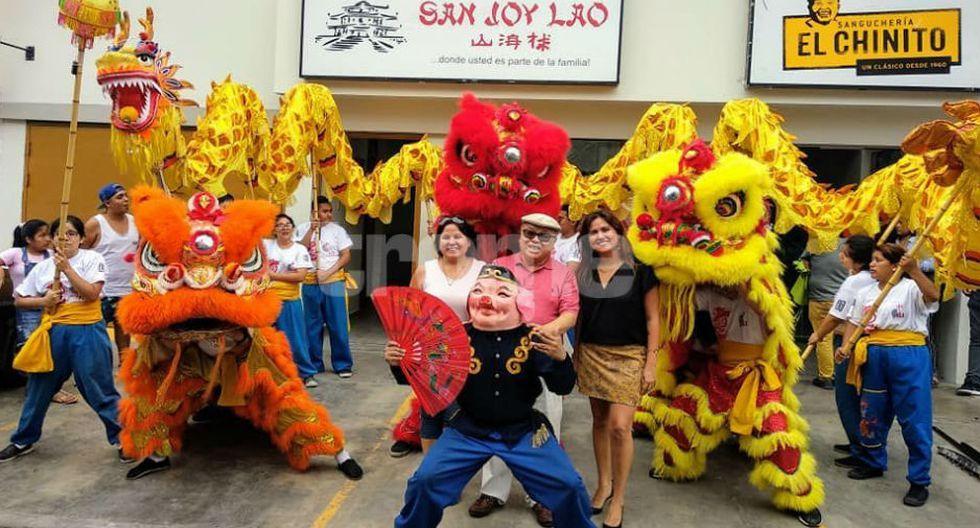 Los tusanes celebran 170 años de la inmigración china a nuestro país. (Foto: Trome)