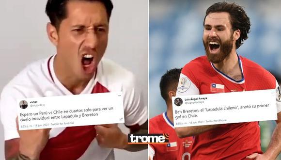 Gianluca Lapadula y Ben Brereton son comparados en las redes sociales