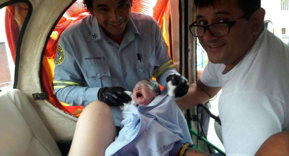 Surco: mujer dio a luz al interior de una mototaxi cuando iba camino al hospital