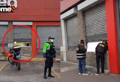 La Victoria:                         Delincuentes hacen forado y roban local al                         interior de conocido supermercado