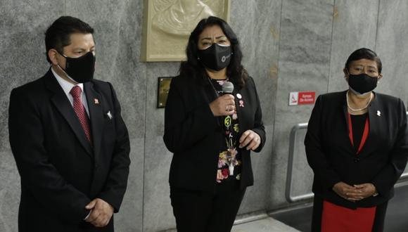 Violeta Bermúdez dijo que se podrían precisar causales para suspender pensiones para expresidentes. (Foto: GEC)