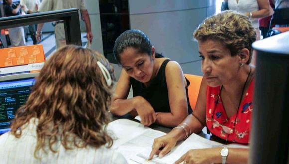 Los afiliados que opten por disponer de sus ahorros jubilatorios, hasta 4 UIT, podrán solicitar este mes el acceso a dicho monto. (Foto: Andina)