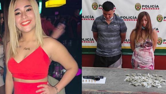 Gianella Ydoña dice ser inocente tras ser detenida con droga en La Victoria