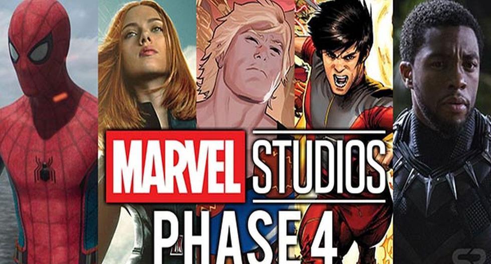 'Avengers: Endgame': Se revelan fechas de estreno de las próximas 8 películas de Marvel