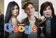 Google: Alan García, Legarda, Camilo Sesto y Pamela Franco entre los más buscados de este 2019