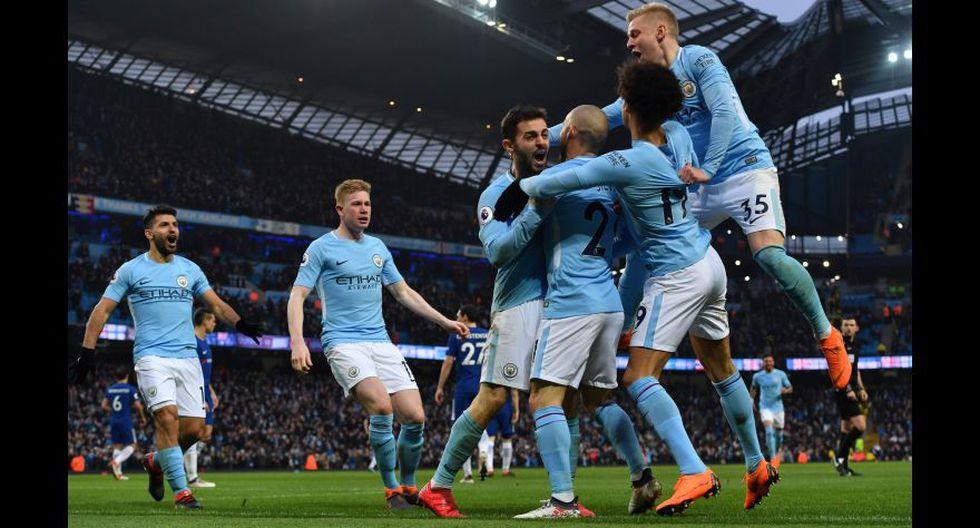 Manchester City (Inglaterra). (Foto: AFP)