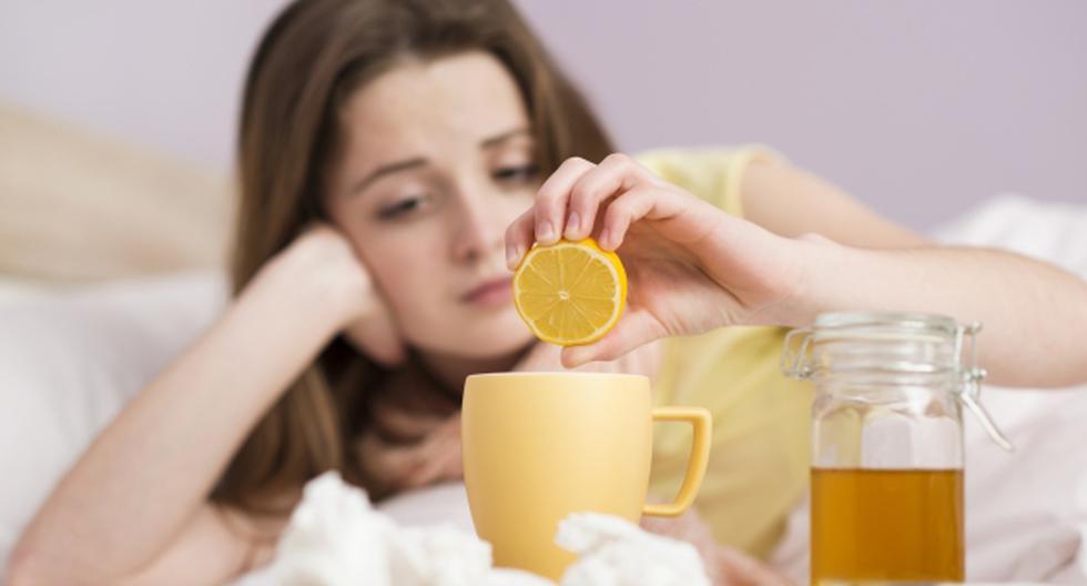 Remedios caseros. Ayudan contra la gripe, pero no curan.