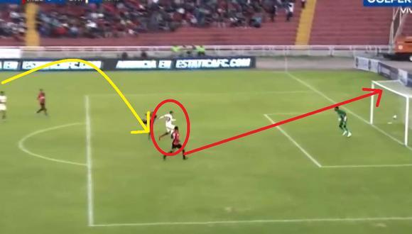 Golazo de Universitario: Donald Millán tras genial control marcó su primer gol con los cremas y de la Liga 1 del 2020
