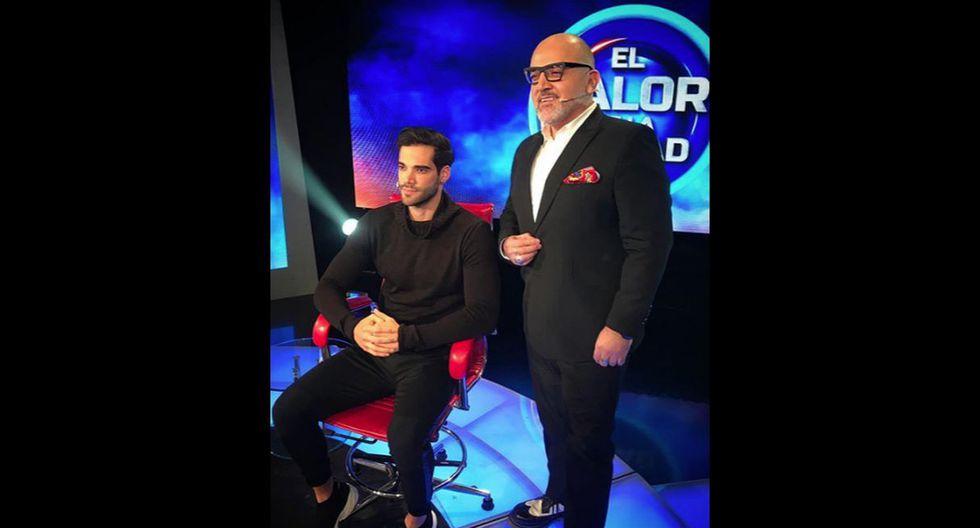 Guty Carrera en el sillón rojo (Fuente: Instagram | Autor: Guty Carrera)