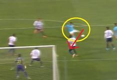 ¡El héroe! Aldair Fuentes evitó gol con todo su cuerpo tras remate de Ortiz en el Alianza vs Cristal | VIDEO