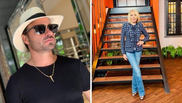 Cristian Zuárez y Laura Bozzo tuvieron una relación de 17 años, la cual acabó en problemas legales que ambos pudieron solucionar. (Foto: Instagram @laurabozzo_of / @criszuarez)