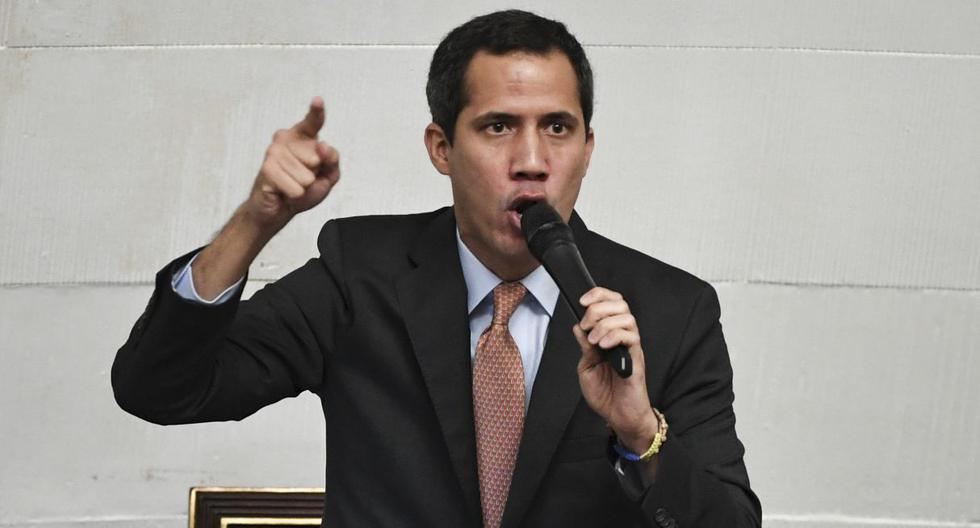 """Guaidó señaló que """"no hay descanso"""" para lograr que Nicolás Maduro salga del poder. (Fuente: AFP)"""