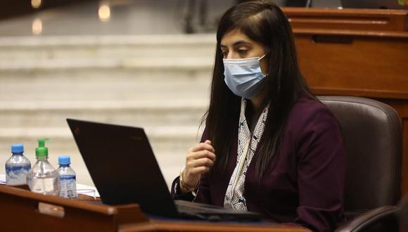 María Antonieta Alva será interpelada por el Parlamento. (Foto: Congreso)