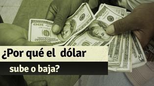 ¿Por qué sube o baja el precio del dólar?
