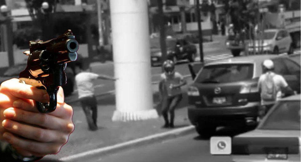 Inseguridad ciudadana: Asaltan a punta de pistola camioneta en marcha en Av. La Marina