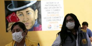 Bolivia tiene cerca de un centenar de casos confirmados de coronavirus