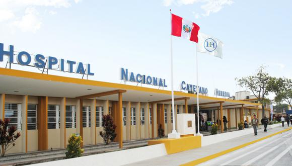 En el Hospital Nacional Cayetano Heredia se atendió a la persona con difteria . (Foto: Gobierno del Perú)