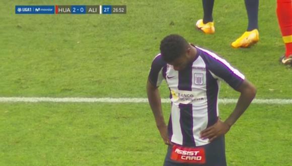 Carlos Ascues falló penal que pudo ser el descuento para Alianza Lima