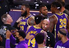 De la mano de LeBron James, Los Angeles Lakers clasificaron a la final de la NBA | VIDEO