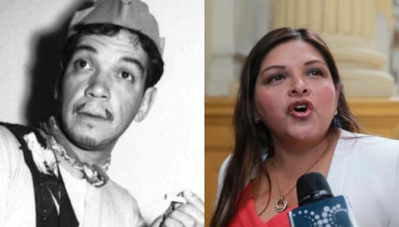 Karina Beteta fue comparada con Cantinflas en Twitter por confuso discurso. (Agencias/GEC)