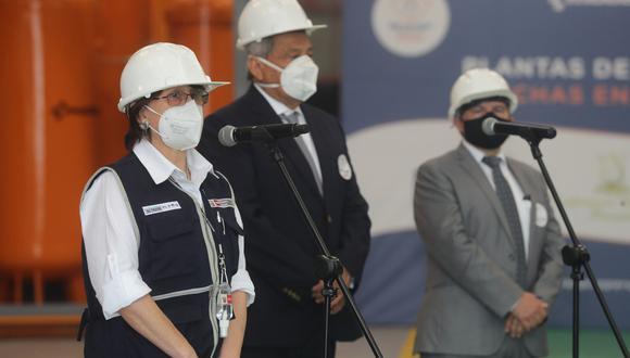 """Mazzetti califica como """"crimen"""" el incremento de  precios de galones de oxígeno en plena segunda ola de COVID-19. Foto: Andina"""