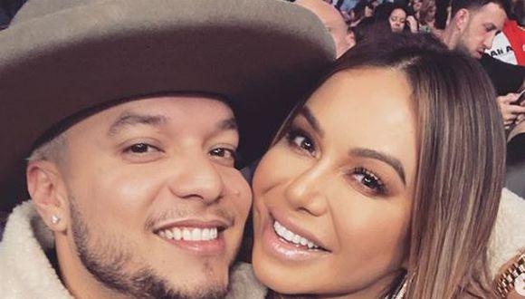 """""""Chiquis"""" Rivera y Lorenzo Méndez son captados muy cariñosos semanas después de confirmar su separación  (Foto: Instagram)"""