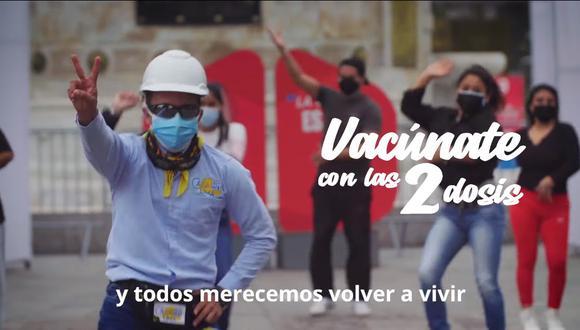 El videoclip ya sobrepasó las 200 mil reproducciones y tiene cientos de comentarios. (Foto: Captura Facebook Presidencia del Consejo de Ministros del Perú)