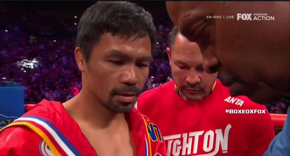 Manny Pacquiao vs. Keith Thurman (Captura TV)