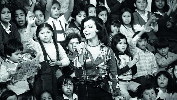 Yola Polastri representó al etapa dorada de la TV peruana (Foto: Archivo GEC)