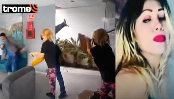 Chorrillos: Inquilina morosa golpea con escoba a dueño de departamento