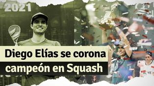 Diego Elías campeón de Squash: lo mejor del triunfo del peruano